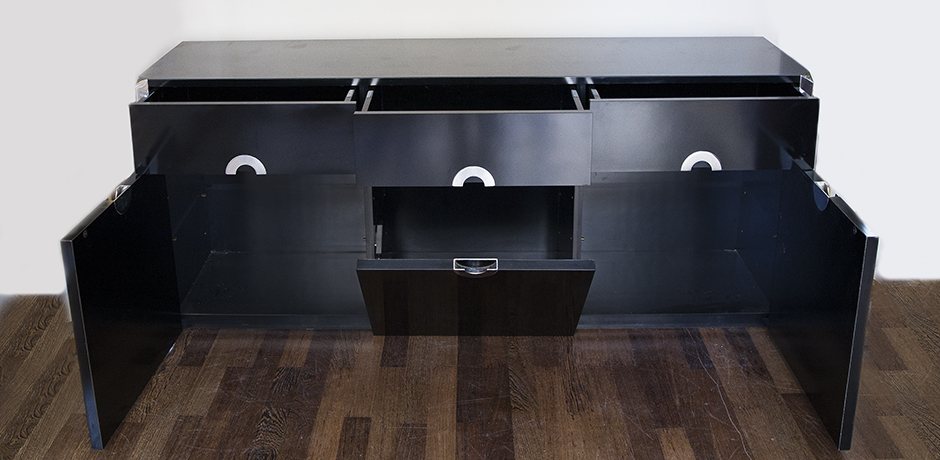 Rizzo-sideboard-black-drawers-wooden