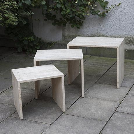 travertine-nesting-tables-italy