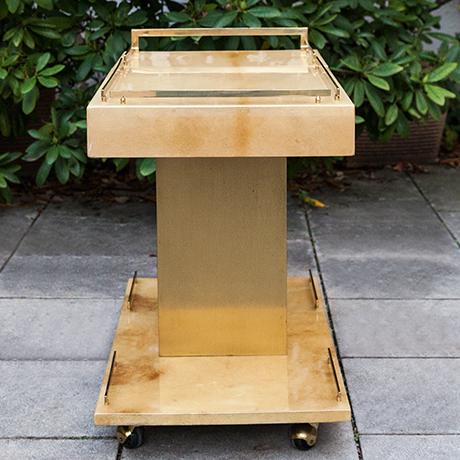 Aldo-Tura-barwagen-creme-flaschenhalter-eiskuhler