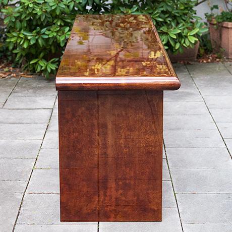 Aldo-Tura-sideboard-tobacco-italy