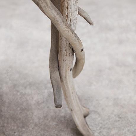 Antler-Sessel-eichenholz-leder