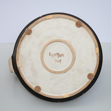 Bruno-Gambone-vase-ceramic-signed