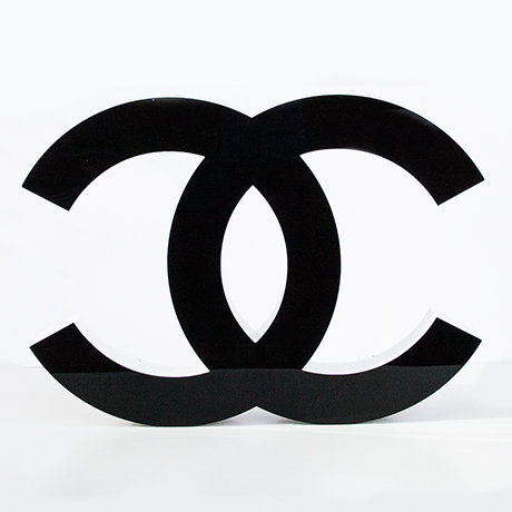 Coco-Chanel-letter-black-white-illuminated