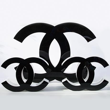 Coco-Chanel-letters-black-white-design