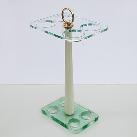 Fontana-Arte-umbrella-stand-green-glass
