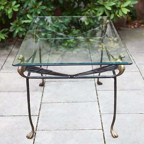 Giacometti-coffee-table-iron-lion