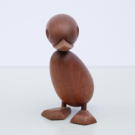 Hans-Bolling-duck-teak-figure