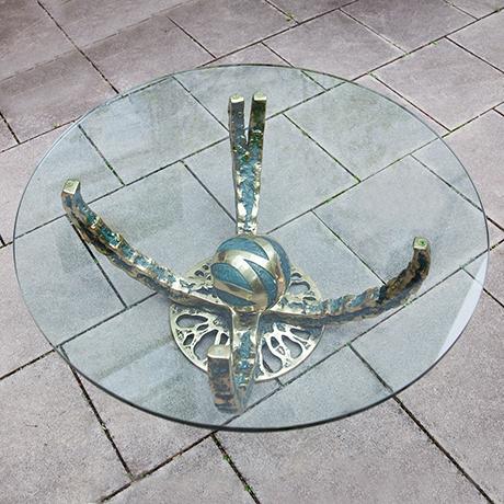 Henri-Fernandez-coffee-table-octopus-bronze