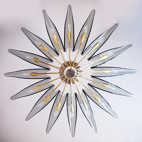Ingrand-Dahlia-chandelier-Fontana-Arte-leuchter