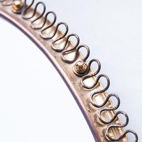 Josef-Frank-wall-mirror-brass-oval
