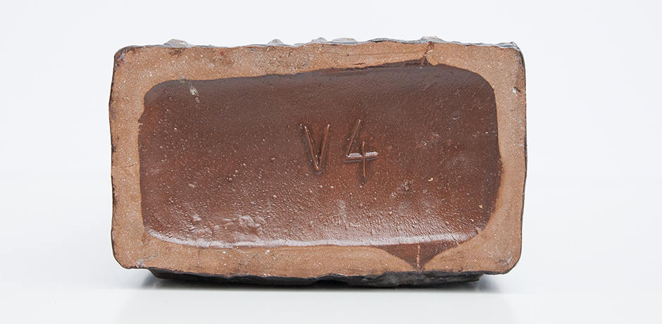 Schaeffenacker-vase-ceramic-horses-brown