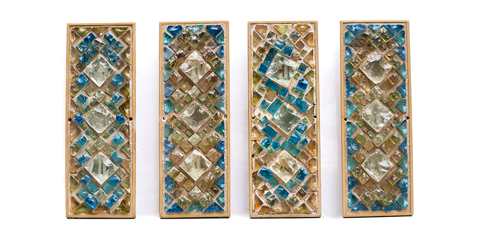 wall-lights-stone-glass-cut-germany