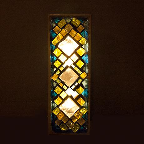 wall-lights-stone-glass-cut-illuminated
