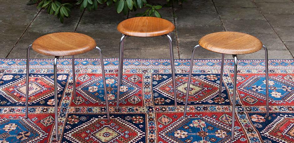 Schlichtes DesignArne-Jacobsen-Fritz-Hansen-stools