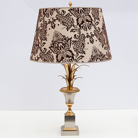 Schlichtes DesignBoulanger-tischlampe-lampe-gold-messing