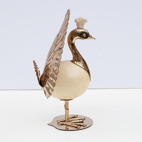 Crespi-phoenix-bird-sculpture-ostrich-egg