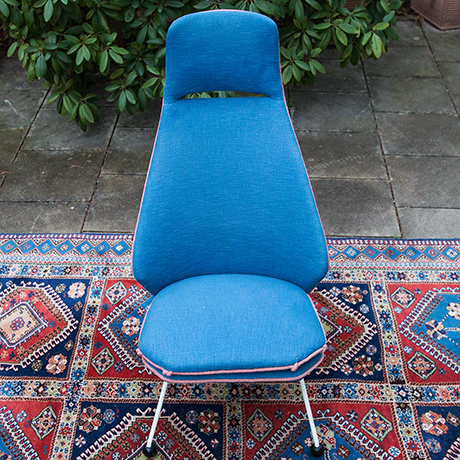 Easy-chair-blue-fabric-vintage