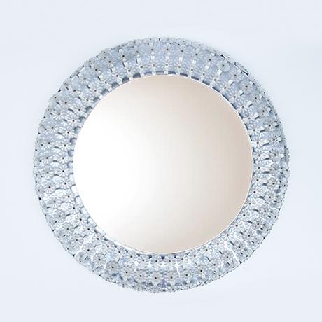 Schlichtes DesignEmil-Stejnar-wall-mirror-flower-Nikoll