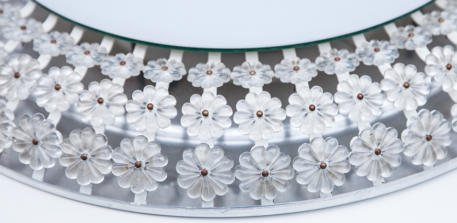 Emil-Stejnar-wall-mirror-flower-backlit-Nikoll