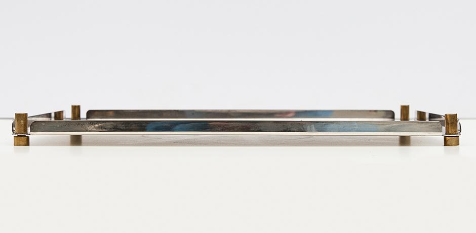 Ettore-Sottsass-Tablett-silber-vintage