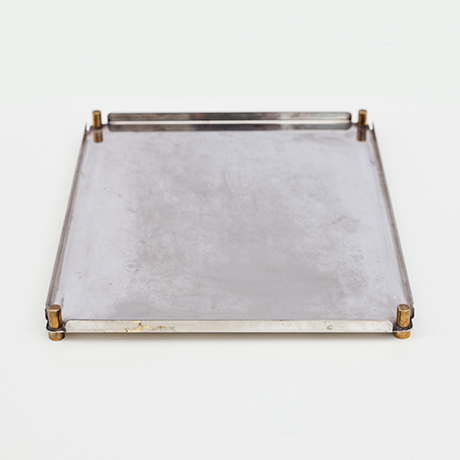 Ettore-Sottsass-tray-silver-serving-plate