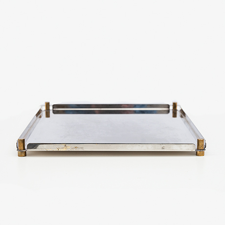 Ettore-Sottsass-tray-silver-serving