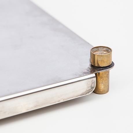 Ettore-Sottsass-Tablett-silber-vintage-Munari