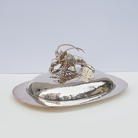 Franco-Lapini-lobster-serving-plate-tray-silver