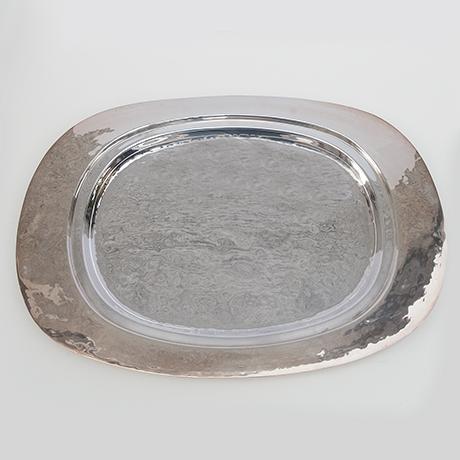 Franco-Lapini-krebs-hummer-servierteller-silber-tablett