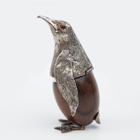 Schlichtes DesignGabriella-Crespi-penguin-silver-metal
