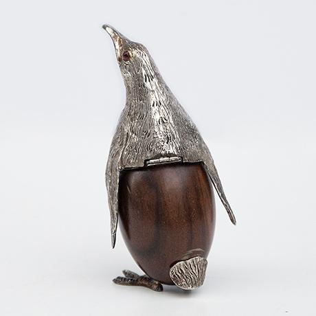 Gabriella-Crespi-penguin-silver-wooden-box