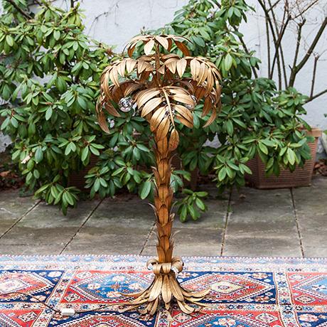 Hans-Koegl-floor-lamp-palm-golden