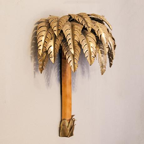 Maison-Jansen-wandlampe-lampe-palme-bambus