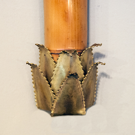 Maison-Jansen-lamp-palm-bamboo-brass