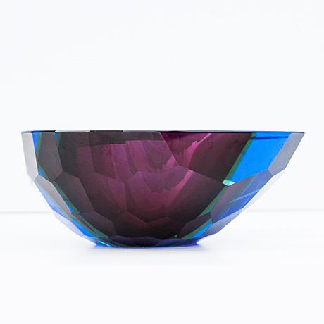 Murano-glass-bowl-purple-blue-colorful