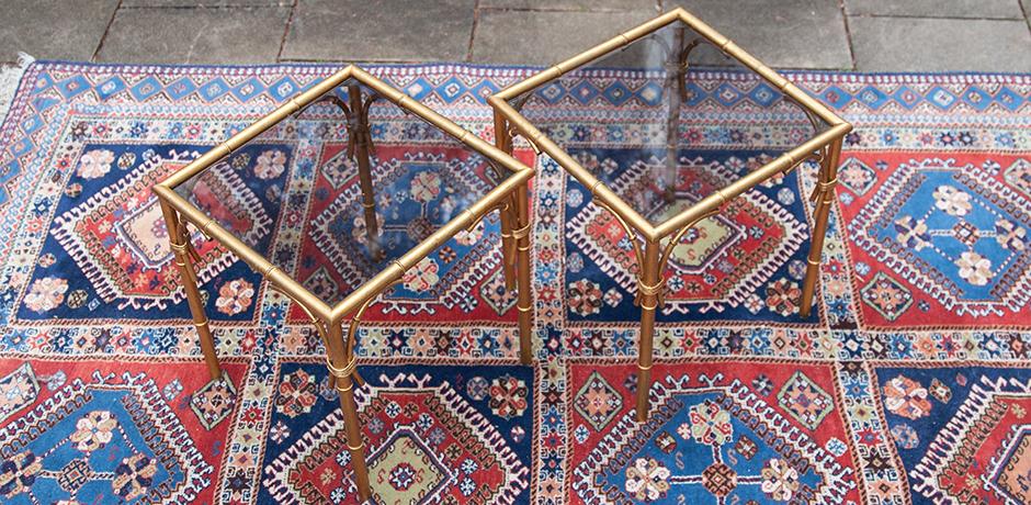 faux-bambus-beistelltisch-tische-braun-glas
