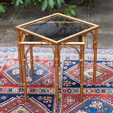 faux-bamboo-side-tables-vintage