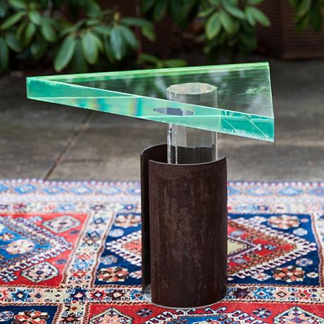 beistelltisch-tisch-plexiglas-messing-blau-gruen