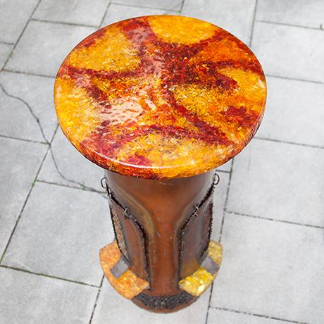 Accolay-Lighting-Bar-Table-red-yellow-orange