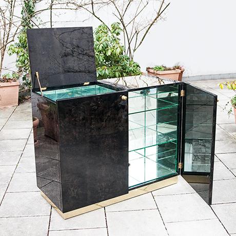 Schlichtes DesignAldo-Tura-bar-sideboard-anthracite-cabinet