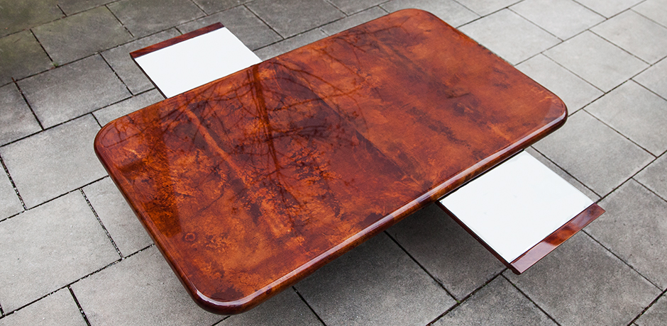 Schlichtes DesignAldo-Tura-dining-coffee-table-tobacco