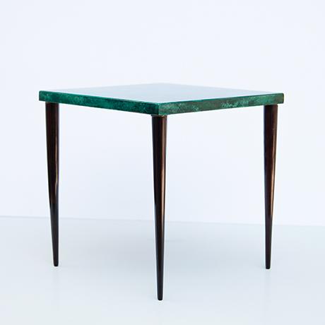 Aldo-Tura-side-coffee-table-green-italy