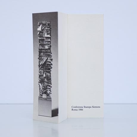 Arnaldo-Pomodoro-stele-objekt-silber-broschuere