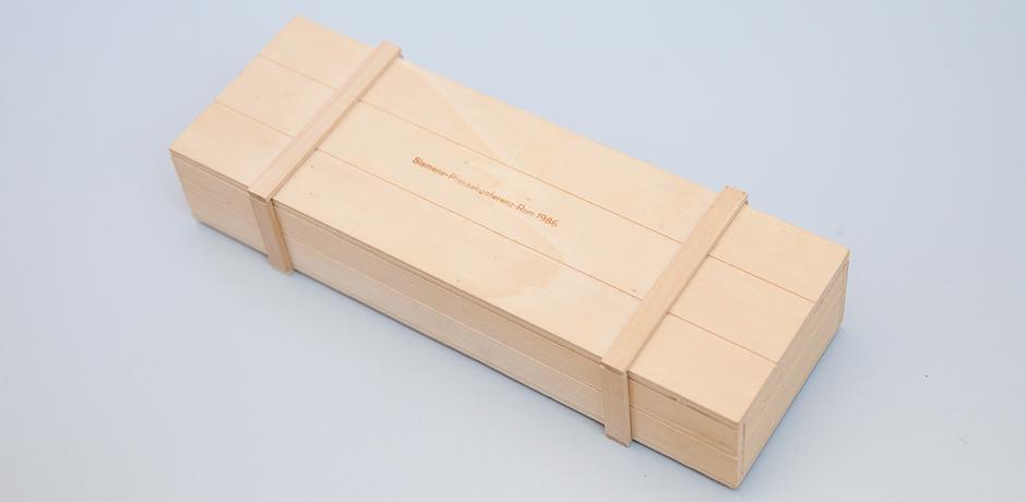 Arnaldo-Pomodoro-object-rectangular-silver-siemens