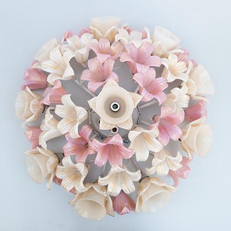 Barovier-Toso-flush-mount-flowers-light