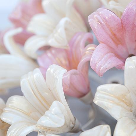 Barovier-Toso-Deckenleuchte-Lampe-Blumen-vintage
