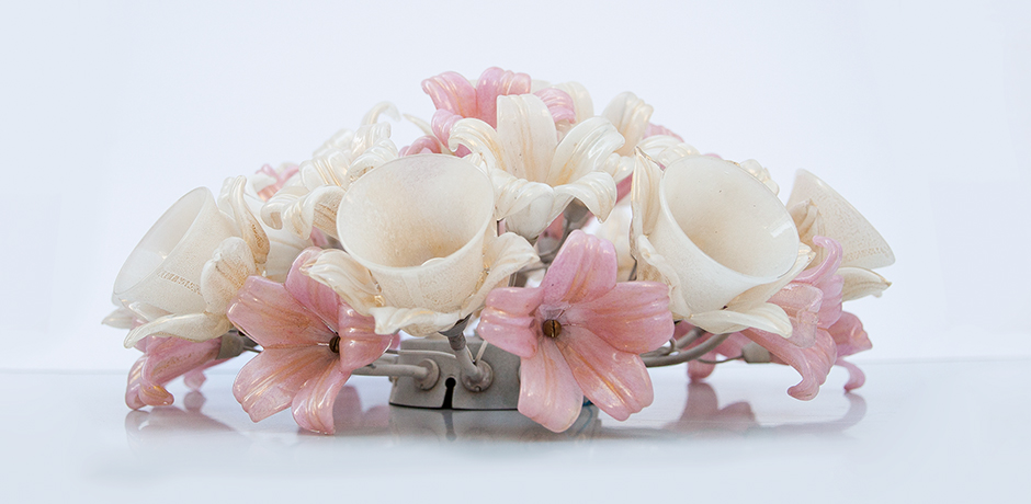 Barovier-Toso-ceiling-lamp-flowers-light
