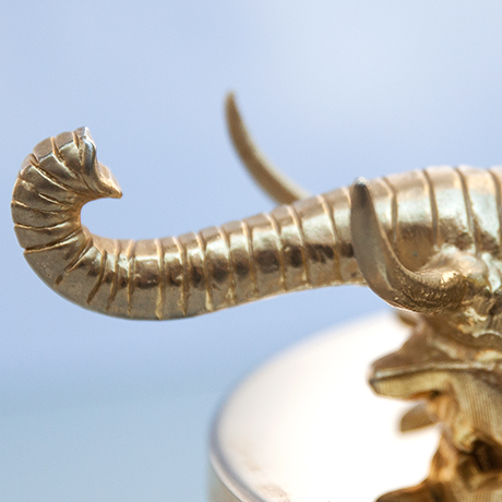 Barovier-box-murano-glass-elephant-golden