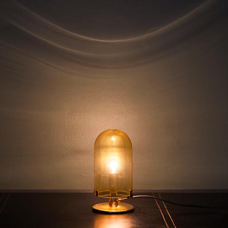 Barovier-table-lamp-glass-murano-golden