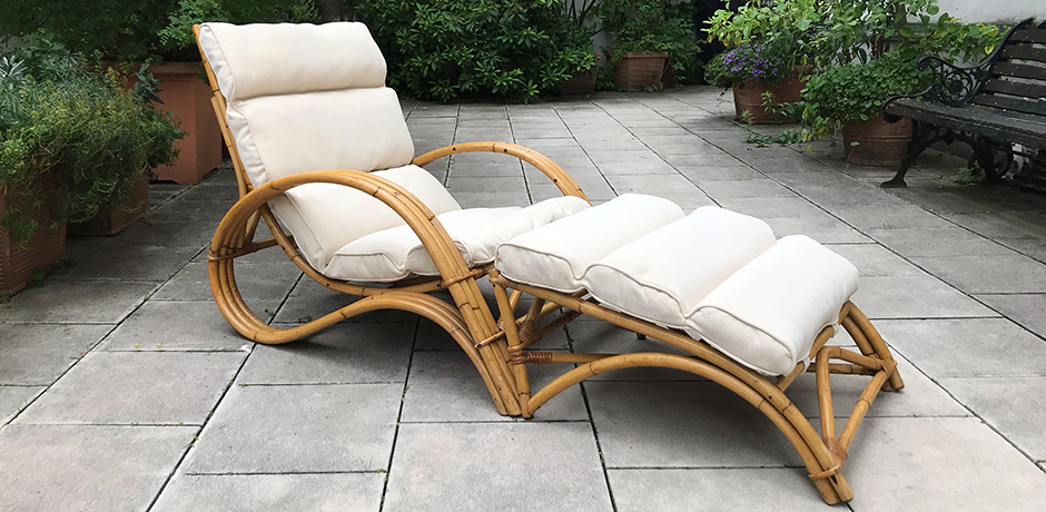 Bonacina-lounge-sessel-hocker-bambus-rattan-polster